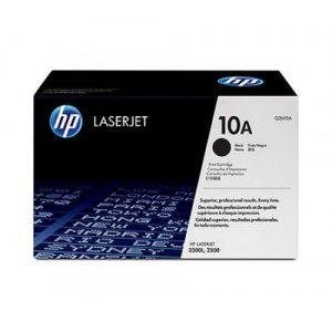 HP 10A Black LaserJet toner