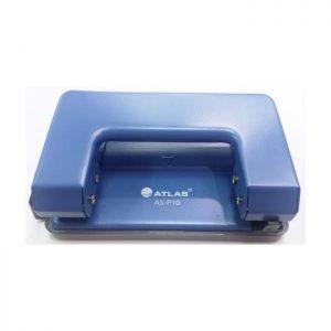 Blue desktop paper punch of Atlas