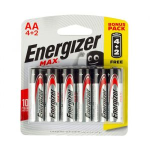 6 battery pack-Energizer