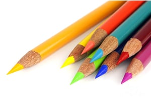 Coloured Pencils & Pens
