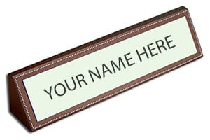 Signs & Name Plates